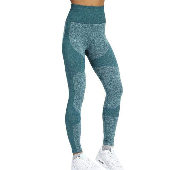 Vibe Fit Leggings Sea Teal / XL V-Form Leggings