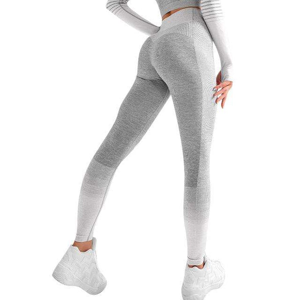 Vibe Fit Light Gray / S Train-33 Leggings