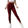 Vibe Fit Maroon / M Feather Seamless Leggings