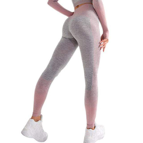 Vibe Fit Pink / S Train-33 Leggings