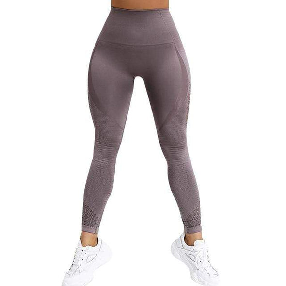 Vibe Fit Purple / L Momentum Seamless Leggings