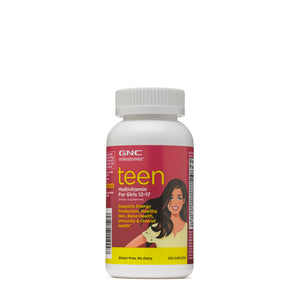 GNC Milestones Teen Multivitamin for Girls 12-17