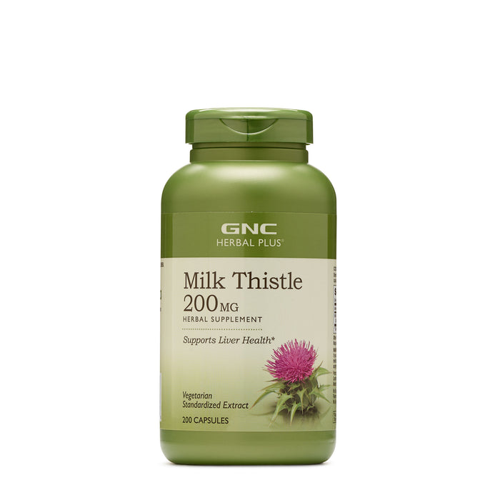 GNC Herbal Plus Milk Thistle 200mg