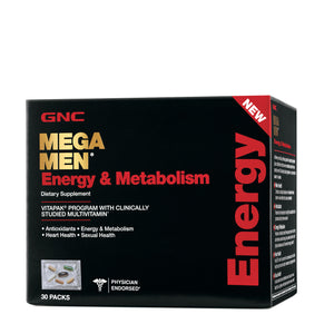 GNC Mega Men Energy and Metabolism Vitapack