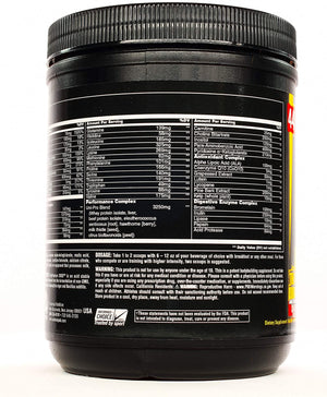 UNIV ANIMAL PAK POWDER FLAVOR ORANGE 388g