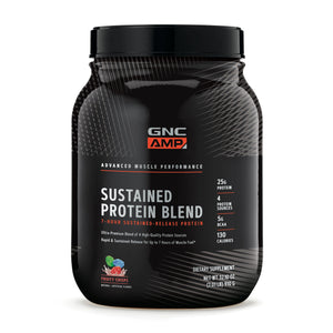 GNC Amp Sustained Protein Blend