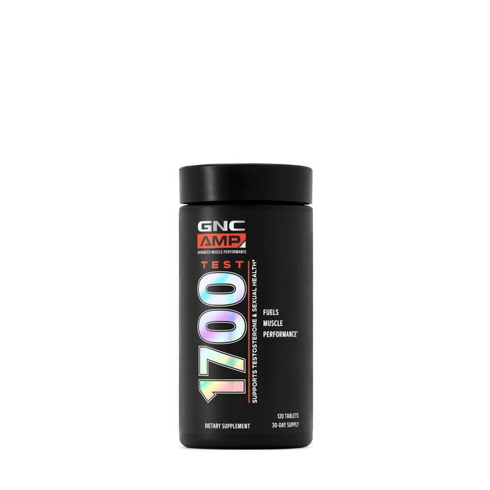 GNC AMP TEST 1700 120 TABLETS