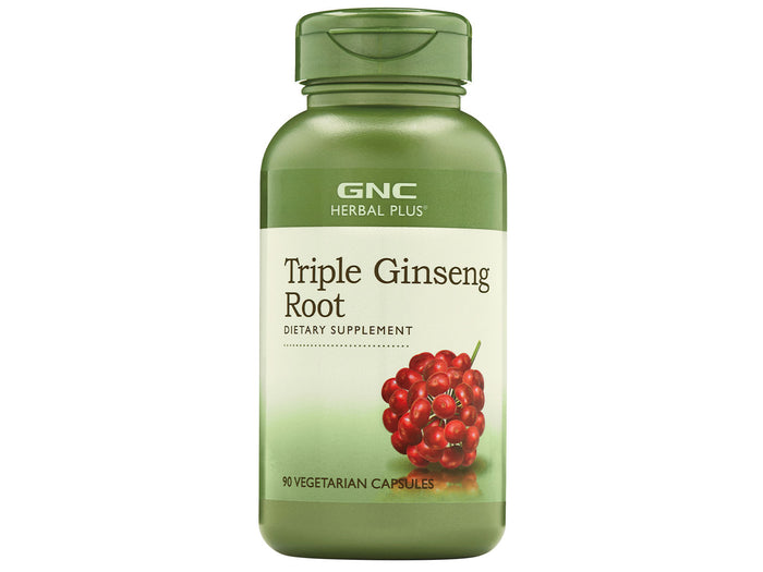 GNC Herbal Plus Triple Ginseng Root