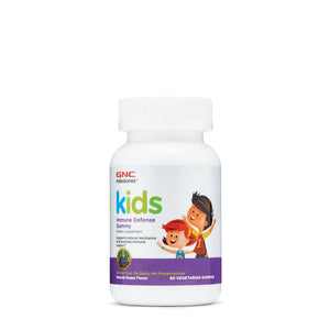 GNC Milestone Kids Immune Defense Gummy, Natural Grape Flavor (60 Gummies)