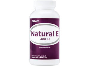 GNC Natural E 400IU with Selenium