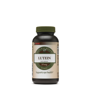 GNC Natural Brand Lutein 20mg