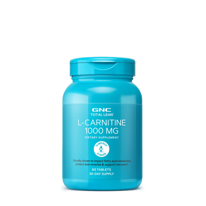 GNC TOTAL LEAN L-CARNITINE 1000mg 60 TABLETS