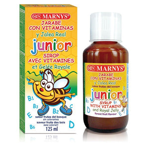 MARNYS JUNIOR SYRUP WITH VITAMINS AND ROYAL JELLY 125ML