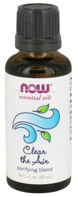 NOW FOODS ESENTIAL OILS 100% CLEAR THE AIR PURIFYING 30ml