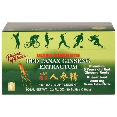 RED PANAX GINSENG EXTRACTUM ORAL LIQUID VIAL 0.34 ONZAS