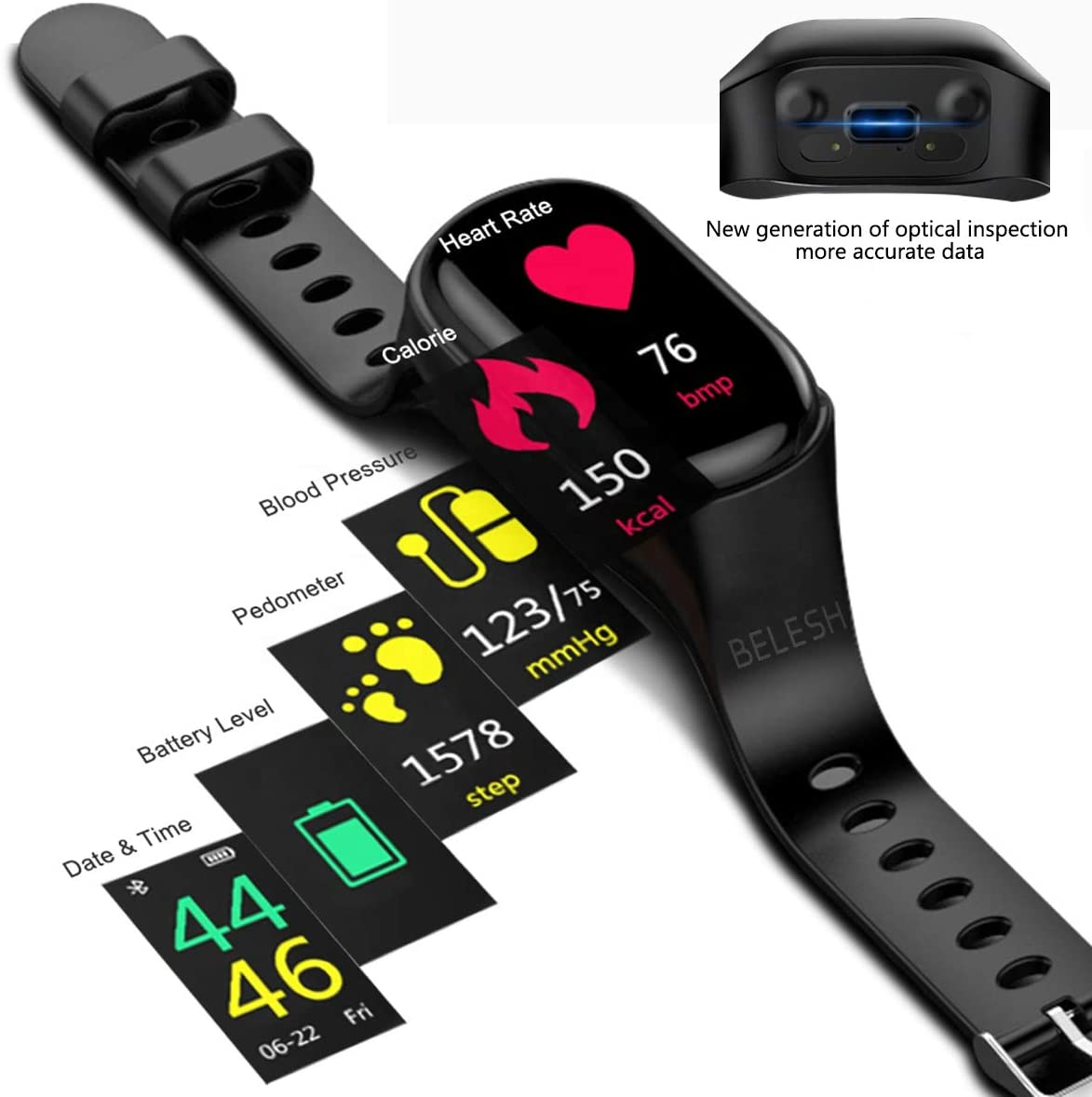 2 in 1 Smartwatch Bluetooth-Kopfhörer
