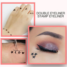 Lade das Bild in den Galerie-Viewer, 2-in-1 wasserdichter Doppelkopf-Make-up-Eyeliner-Puffer