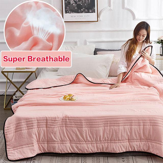 Gesunder Schlaf❄️Cool Ice Silk Summer Blanket