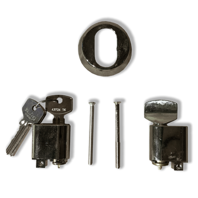 Cylinder and Equipt C/W 3 Keys Patio Doo