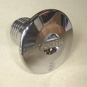 "Deck Filler Diesel 2"" / 50mm Chrome"