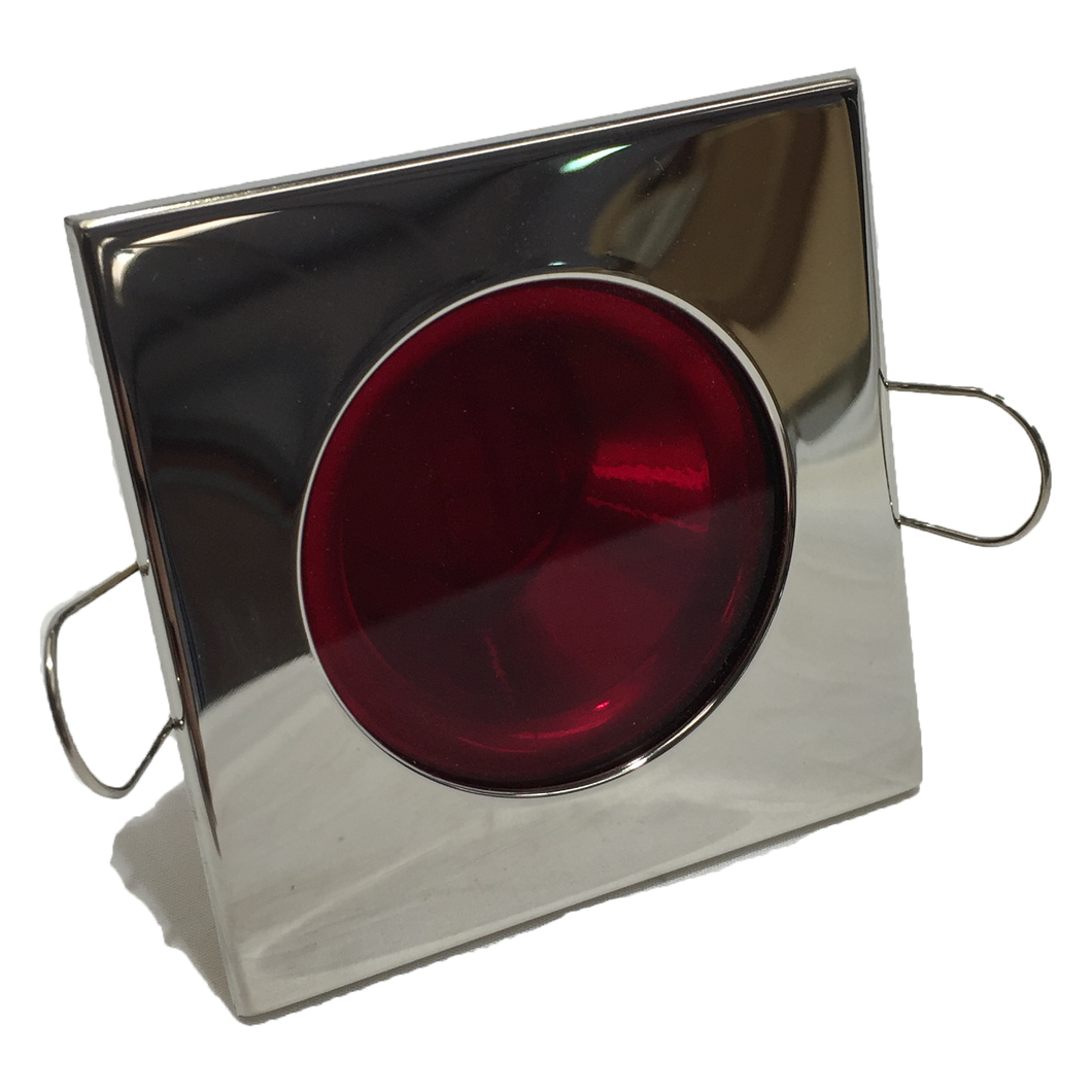 LIGHT BLAKE LED SQUARE RED RECESSED