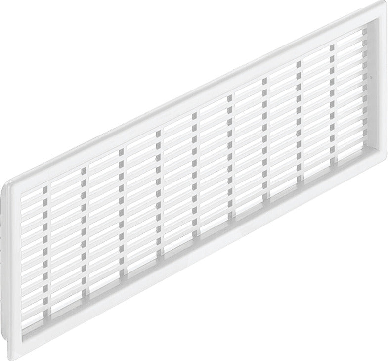 Vent Rectangular White 227x68