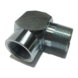 "ELBOW 1 1/4"" NPT M-F PLATED STEEL"