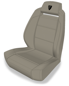 Helm Seat with Fairline Crest