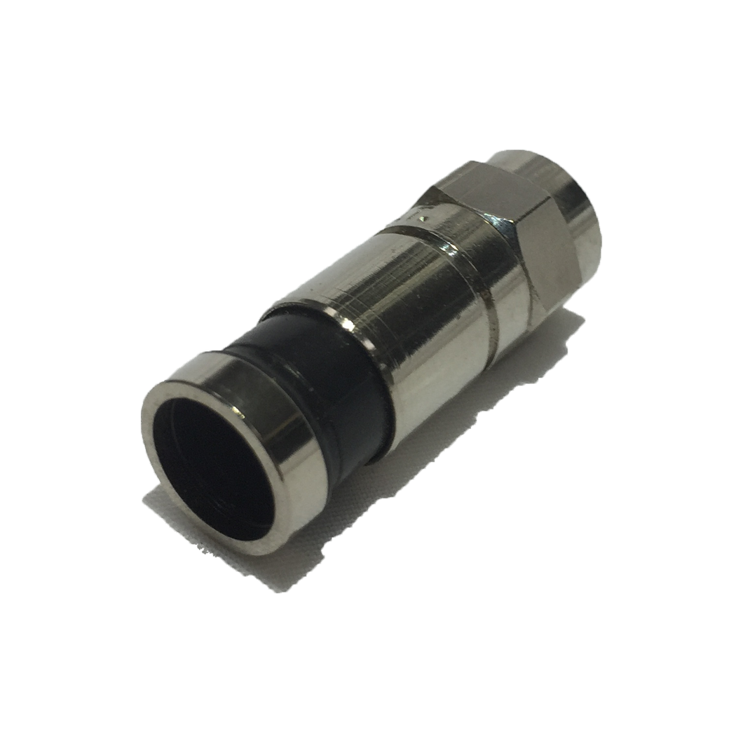 CONNECTOR RG6 F TYPE