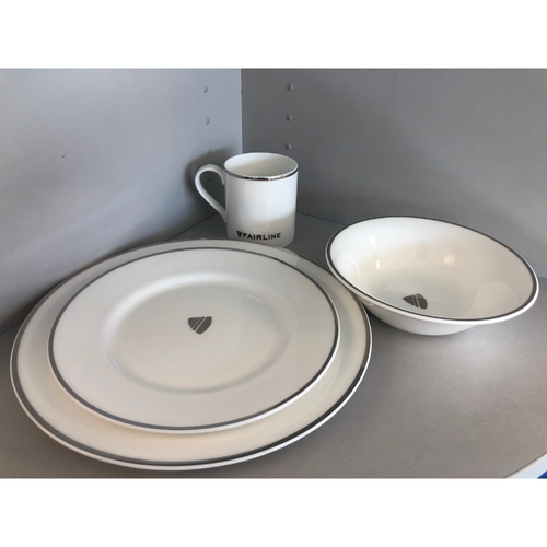 Fairline Yachts Crockery Set