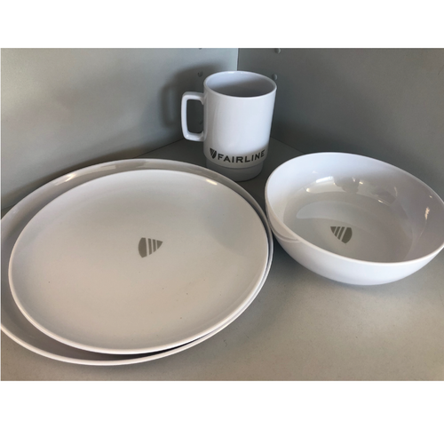 Fairline Yachts Melamine Crockery Set