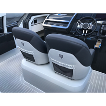 Load image into Gallery viewer, F//LINE 33 Silvertex Aluminium & Antracite Bucket Seats