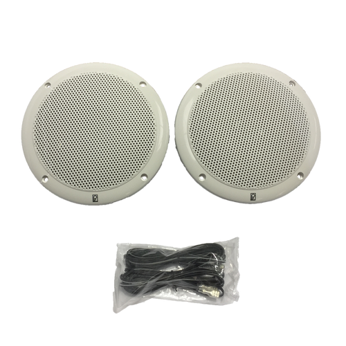 SPEAKERS 2 WATERPROOF 2WAY AV MARINE