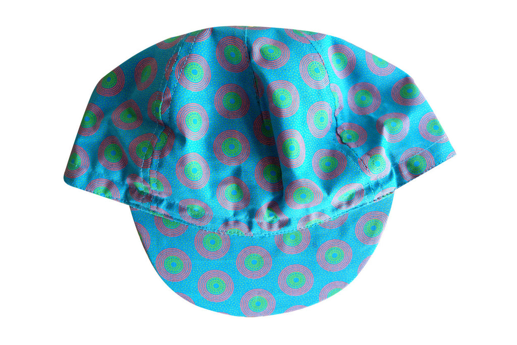 TURQUOISE CYCLING CAP
