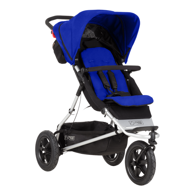 Mountain Buggy +one stroller in marine blue colour_marine