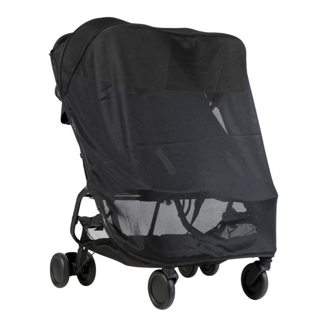 Mountain Buggy nano duo équipé d'un double filet pare-soleil_default