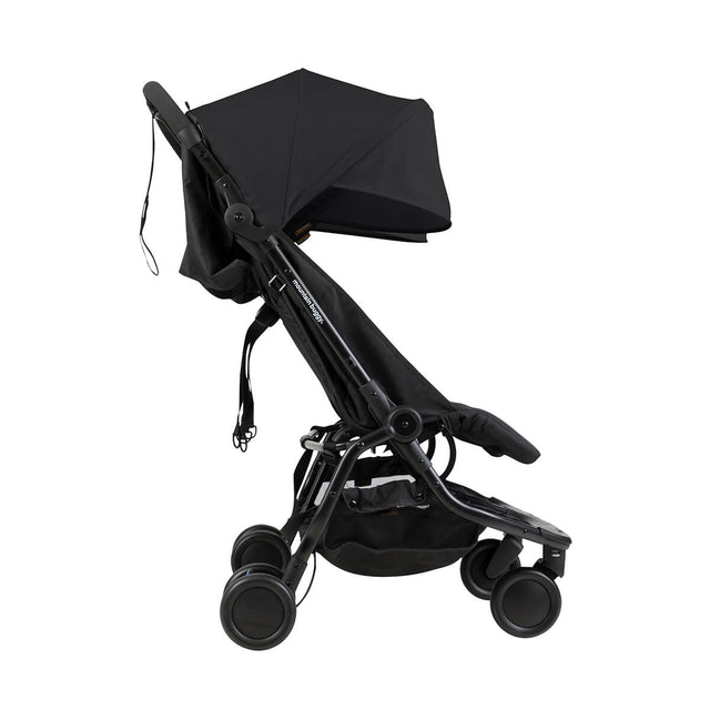 mountain buggy nano travel buggy in black colour side view_black