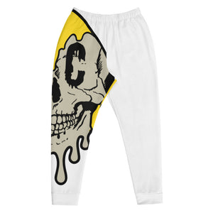 Half Smiley Joggers White