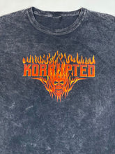 Load image into Gallery viewer, Skull Fire Mineral Washed Tee