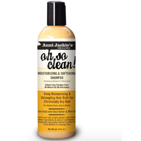 Aunt Jackie's - Oh So Clean – Moisturizing & Softening Shampoo - blackhairboutique.co.uk