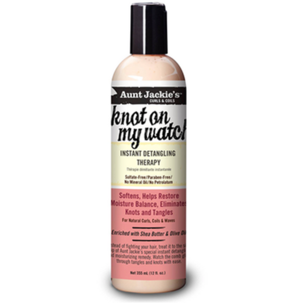 Aunt Jackie's - Knot On My Watch Instant Detangling Therapy - blackhairboutique.co.uk