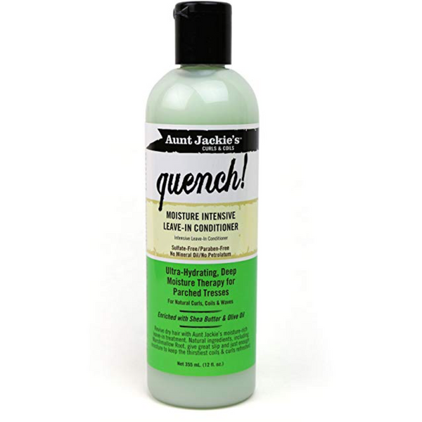 Aunt Jackie's - Quench – Moisture Intensive Leave-In Conditioner - blackhairboutique.co.uk