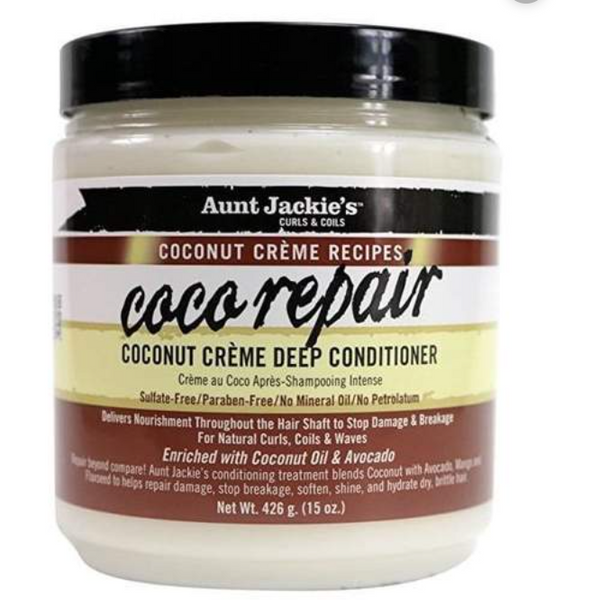 Aunt Jackie's : Coco Repair – Deep Conditioner - blackhairboutique.co.uk