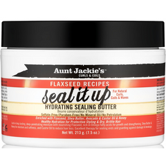 Aunt Jackie's - Seal It Up – Hydrating Sealing Butter - blackhairboutique.co.uk