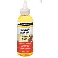 Aunt Jackie's - Nourish My Hair – Flaxseed & Monoi Oil - blackhairboutique.co.uk