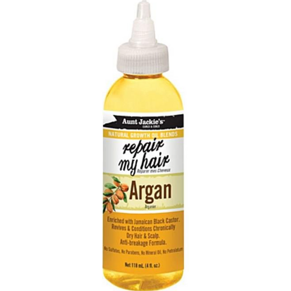 Aunt Jackie's - Repair My Hair – Argan - blackhairboutique.co.uk