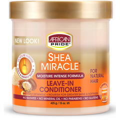 African Pride Shea Butter Miracle Leave in Conditioner - blackhairboutique.co.uk