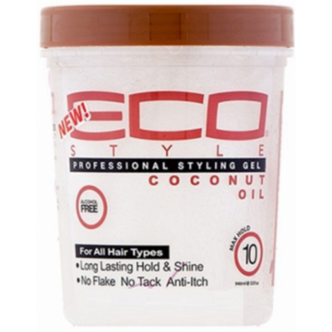 Eco Style Coconut Oil Styling Gel - blackhairboutique.co.uk