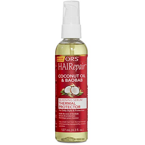 ORS Hairepair Silkening Serum Thermal Protector - blackhairboutique.co.uk