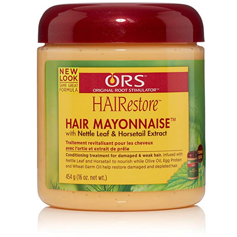 ORS HAIRestore Hair Mayonnaise with Nettle Leaf and Horsetail Extract - blackhairboutique.co.uk